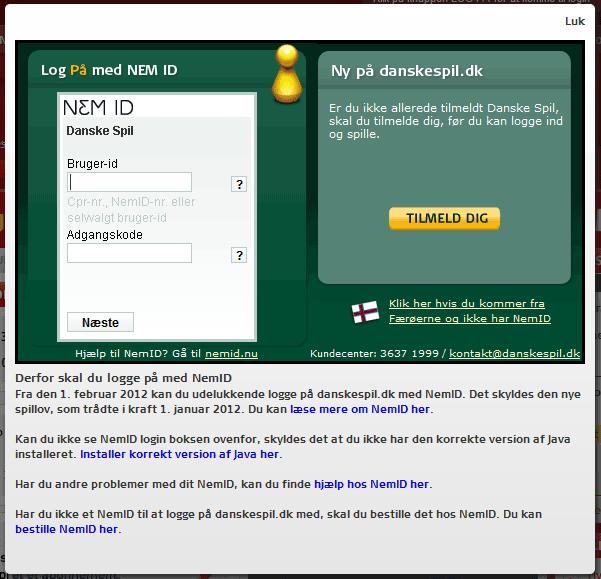 www lotto dk